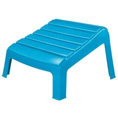 Adams® Adirondack Ottoman In Pool Blue   Adirondack U0026 Rocking Chairs   Ace  Hardware