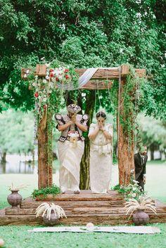 Poruwa My dream wedding Poruwa Poruwa Poruwa Poruwa Wedding Chapel Decorations, Outdoor Wedding Backdrops, Rustic Wedding Venues, Wedding Ceremony Decorations, Chapel Wedding, Wedding Ideas, Outdoor Decorations, Wedding Photos, Wedding Planning