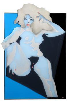 """""""Le désir"""" 1969, pop art by Evelyne Axell"""