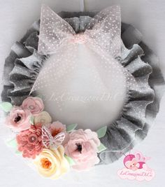 Wreath by LeCreazioniDiCi https://www.facebook.com/Lecreazionidici/