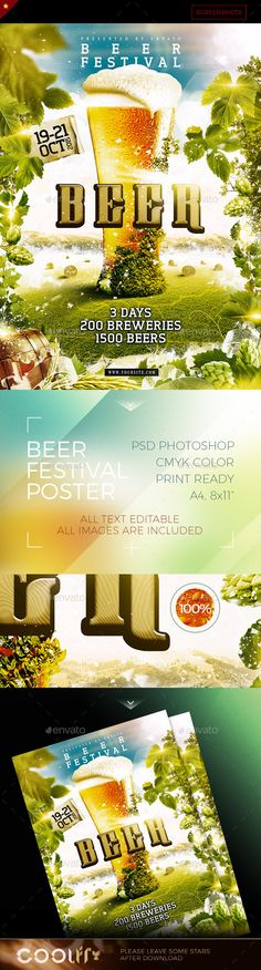 Download: http://graphicriver.net/item/beer-festival-poster/12643191