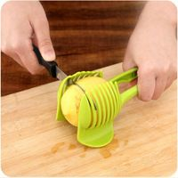 اكسسوارات دي مدة التصادم outils الشريحة اكسسوارات المطبخ أدوات الطبخ المطبخ تقطيع الطماطم شريحة مثالية الشحن المجاني