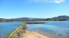 Vista de la Ría de Villaviciosa desde el Puntal #Asturias #ComparteAsturias
