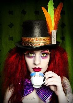 girl mad hatter costume kids - Google Search