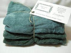 Nice coastal decor colors. Evergreen 3pc HandDyed Cheesecloth Gradation fabric by fiberonawhim, $8.50