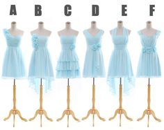 Alternative Short Light Blue Bridesmaid Dresses Multi Style,Custom Made. Cheap Beach Party Mini Lady Dresses http://www.dhgate.com/product/productdisplay.do?from=product_preview=168444249