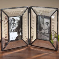 J. Devlin Pic 100-2 Beveled-Engraved Double Hinge Stained Glass Picture Frame J Devlin Art Glass http://www.amazon.com/dp/B007NKG70W/ref=cm_sw_r_pi_dp_u.YZtb07B4GHX106