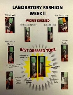 Do you already know Wrinky Willy and Twisted Taylor? Meet the best and worsed dressed tubes.