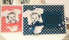 Vandaag heb ik een leuke serie met babykaarten die ik aan jullie wil laten zien.   Mijn voorraad babykaartjes moest dringend aangevuld...