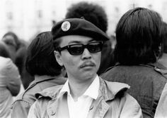 """We didn't lose in the 60's … we just didn't finish the job"" - Richard Aoki.     Not all of the Panther's were black. He's a forgotten part of the movement. Not just the Black Panther Movement but the civil rights movement."