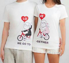 Love together shirt