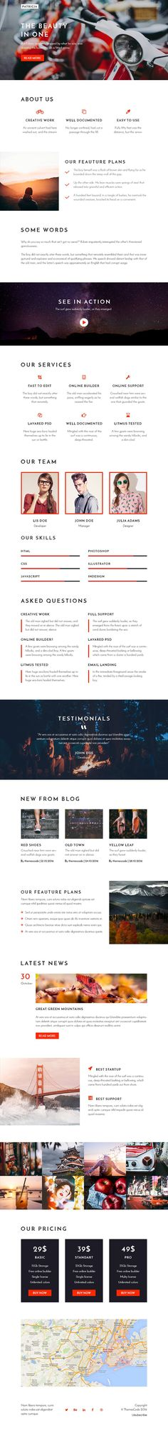 20 Email templates bundle + Builder by ThemesCode on @creativemarket