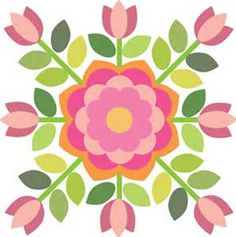 This is probably my favorite block! It just makes my heart sing. I'm still working on putting the block together, but here is the pattern for Sycamore Rose – Block Have fu… Rose Applique, Hand Applique, Machine Applique, Applique Templates, Applique Patterns, Applique Quilts, Owl Templates, Felt Patterns, Quilting Tutorials