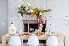 Leipzig blomme en decorFairlady Bridal 2015/16 – Modern en minimalistiese gestileerde fotosessie | Mooi Troues