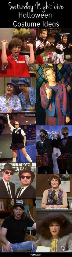 SNL characters for Halloween costume inspiration!