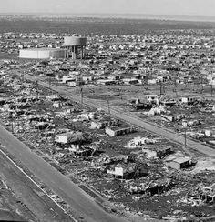 Northern suburbs of Darwin damaged in Cyclone Tracy, 1974 Darwin, City Photo, Xmas, Australia, History, Life, Historia, Christmas, Navidad