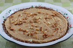 Raw peanut butter pie.