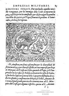 A second pissed-off Ostrich, Pg 85 of Dialogo de las empresas militares, y amorosas