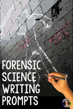 Forensic science writing prompts from Science Lessons That Rock Science Writing, Writing Promps, Forensic Science, Computer Science, Science Lessons, Life Science, Teaching Biology, Teaching Resources, Escape The Classroom