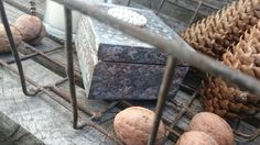 na starej ławce: Jesiennie Firewood, Decoupage, Decorative Boxes, Texture, Crafts, Home Decor, Woodburning, Manualidades, Decoration Home