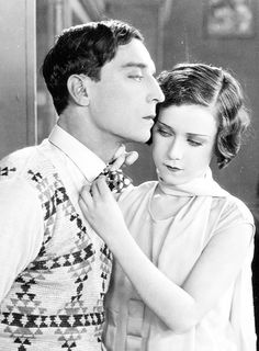 Buster Keaton and Marion Byron in Steamboat Bill Jr 1928 Golden Age Of Hollywood, Classic Hollywood, Old Hollywood, Gorgeous Eyes, Beautiful Men, Buster Keaton, Little Busters, Physical Comedy, Silent Film Stars