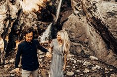 Waterfall engagements, tell the birds