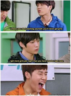 Burn! ahh poor woohyun<3