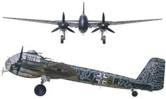 The Junkers Ju 188 was a German Luftwaffe high-performance medium bomber built during World War II, the planned follow-up to the famed Ju 88 with better performance and payload. It was produced only in limited numbers, due both to the presence of improved versions of the Ju 88, as well as the deteriorating war condition and the resulting focus on fighter production.
