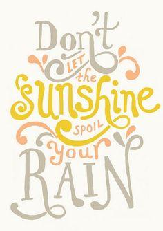 Amor por los dias lluviosos