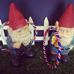 Two favorite things: Gnomes and Hula Hoops