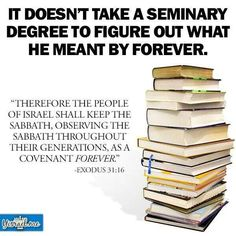 Hmmm....FOREVER, no excuses. If you are born again you are Israel (grafted in) obedience is compulsory !!!   :-)