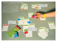 Resident Engagement Card Game