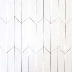 Ceramic Chevron subway tile for kitchen backsplash or bathroom tile in white color Milk