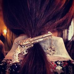 Chanel does Dallas hair with Gunpoint ponytails and big bow hairstyles - Beauty & Hair News - handbag.com
