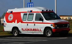 Icelandic Red Cross Ambulance