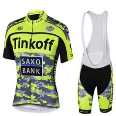 8480247c8 Tinkoff Pro Bicycle Wear Cycling 100% Lycra Quick Dry Tops Bicycle Race