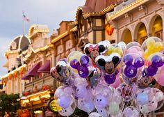 Disney balloons - E is already begging for one of these