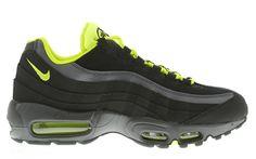 Nike Air Max 95 (Anthracite, Dark Grey & Venom Green)
