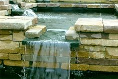 Backyard Ponds And Waterfalls Raised Pond, Pond Waterfall, Ponds Backyard, Water Features, Land Scape, The Great Outdoors, Pond Ideas, Garden Ideas, Outdoor Decor
