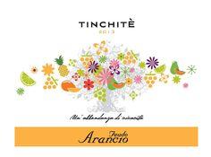 Tinchitè - Grillo - Feudo Arancio #vino #wine #naming #packaging #design
