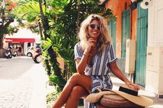 One of my favorite things about visiting St Barths is how easy it is to get around. I live on planes and in cars, constantly moving from one place to Italy Street Fashion, St Barths, Natasha Oakley, Lets Get Lost, Summer Wardrobe, Get Dressed, Life Is Good, Wrap Dress, Spring Summer