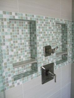 Home Tours   Bald hairstyles, Bright and Bathroom tiling