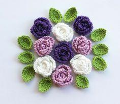 Klick Gleich Rein Gehäkelte Blumen Blüten Sind Hübsch Die