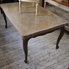 French Oak Ext Table