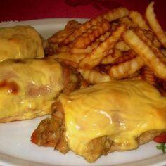 Gombás emeletes csirkemell Receptek a Mindmegette. Pork, Food And Drink, Beef, Chicken, Recipes, Kale Stir Fry, Meat, Recipies, Ripped Recipes