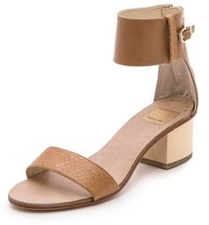 Dolce Vita Foxie low Heel Sandals on shopstyle.com