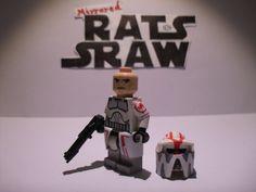 Lego Star Wars minifigures - Clone Custom Troopers - Corusant ARF 'Hound'