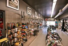 I.Martin bicycle shop by Glow Exhibitions, Los Angeles California bicycle