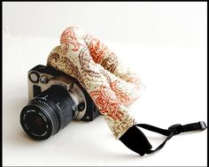 Comfortable Camera Strap for women and men Fashion by sizzlestrapz, $29.99