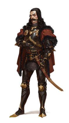 ArtStation - Vlad III the Impaler, Riccardo Moscatello